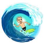 David Hunt gets market timing right so you can ride the stock market waves together.